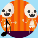 Shake Dem Halloween Bones | Halloween songs for Children